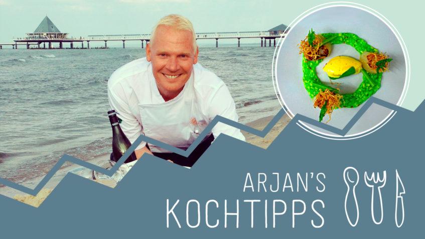Arjan's Kochtipps: Sommerfrische Jakobsmuschel // Usedom - Strandhotel Ostseeblick - Blog