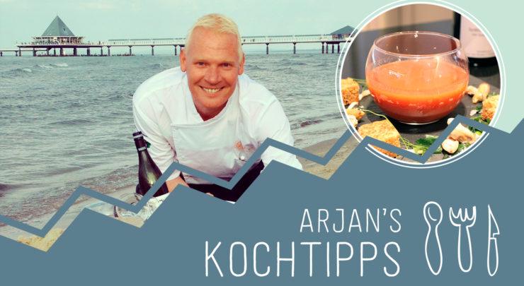 Arjan's Kochtipps: Herbstzeit ist Suppenzeit // Usedom - Strandhotel Ostseeblick - Blog