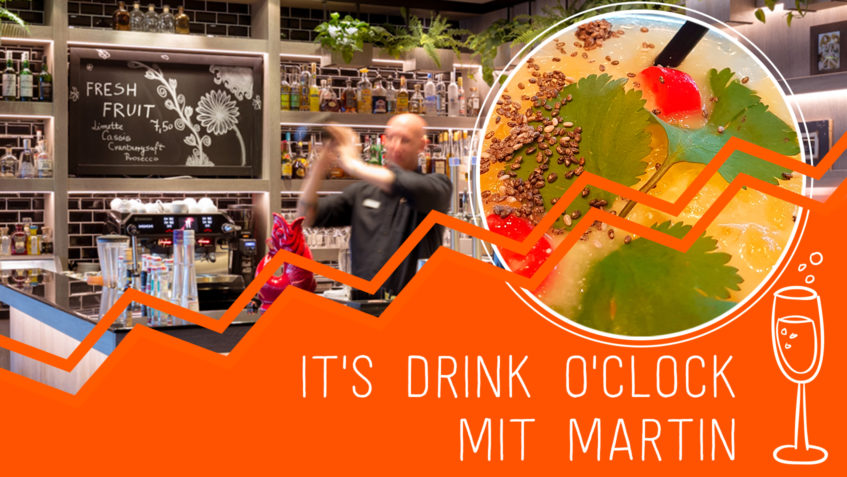 It's drink o'clock! …mit Barchef Martin Ziegler // Usedom - Strandhotel Ostseeblick - Blog
